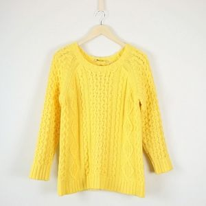 Soft Surroundings Cotton Blend Pullover Sweater